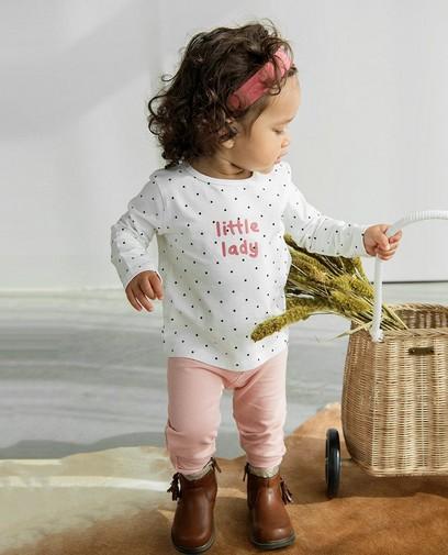 Een roze outfitje voor little ladies