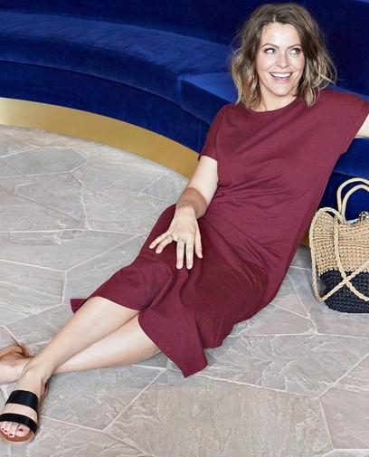 Karen Damen kiest deze lente voor comfy kleedjes
