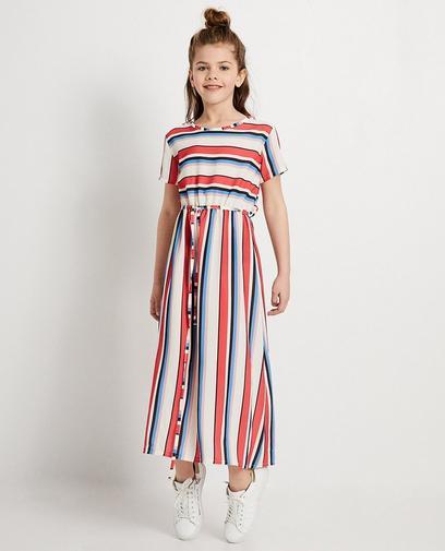Assortie avec maman dan cette robe maxi tendance