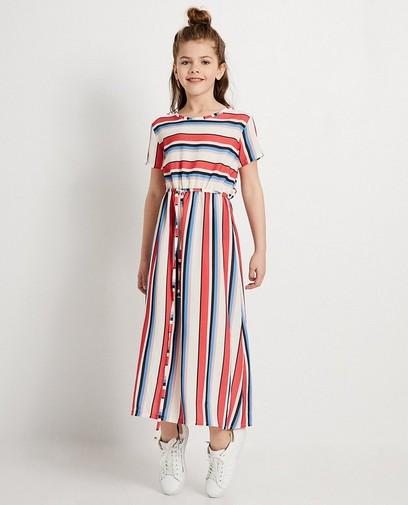 Matchen met mama in deze stijlvolle maxi-jurk