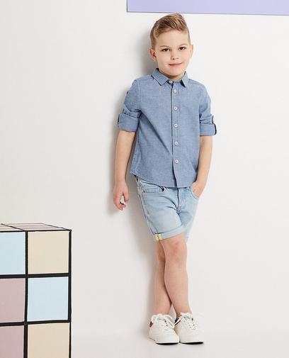 La chemise denim = cool