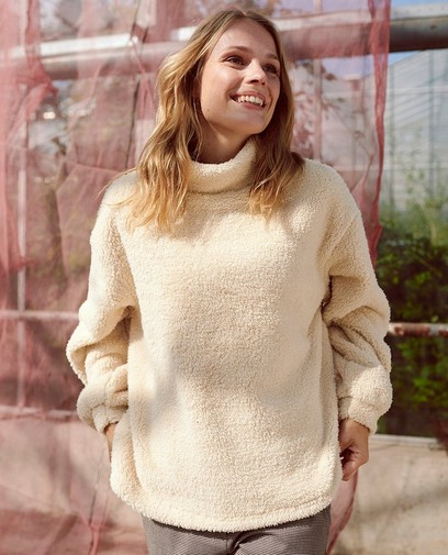 Fluffy trui, gezellige momentjes gegarandeerd